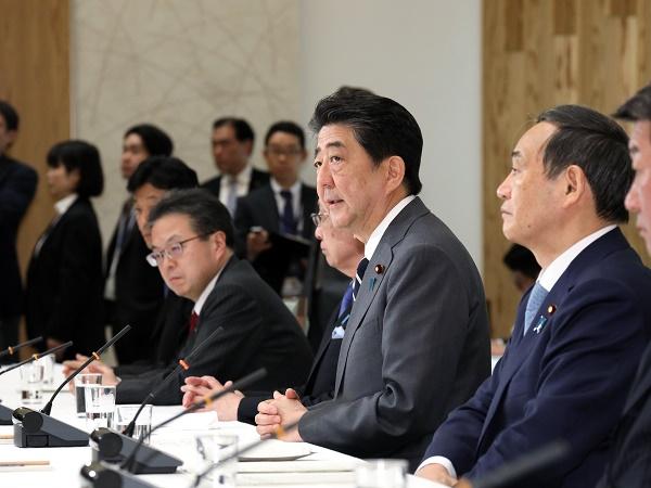 政府与党連絡会議-平成31年3月12日