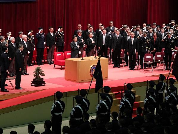 平成30年度 防衛大学校卒業式-平成31年3月17日