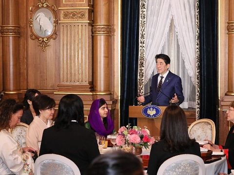 第5回国際女性会議WAW!/W20登壇者等との夕食会-平成31年3月22日