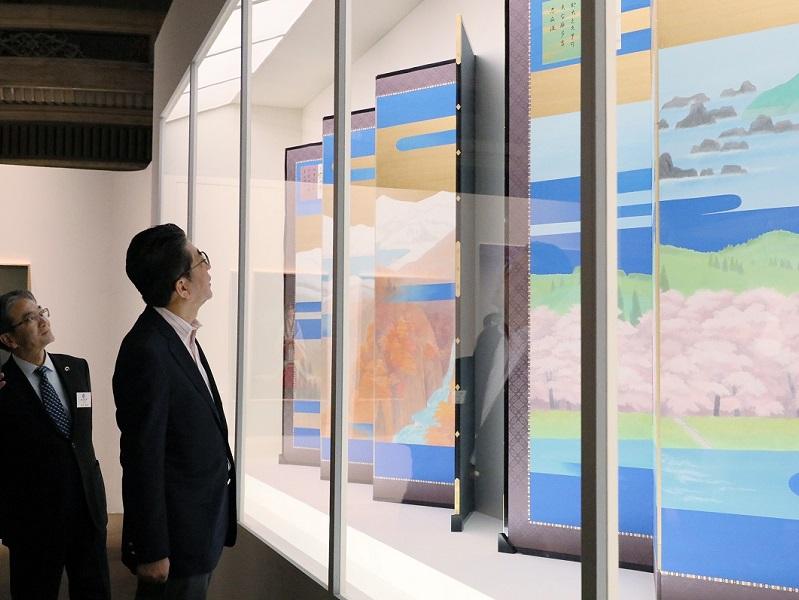 特別展 御即位30年記念「両陛下と文化交流―日本美を伝える―」-平成31年3月31日