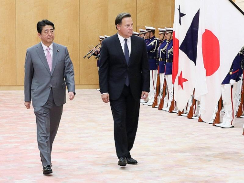 日・パナマ首脳会談等-平成31年4月4日