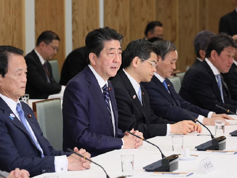 政府与党連絡会議-平成31年4月8日