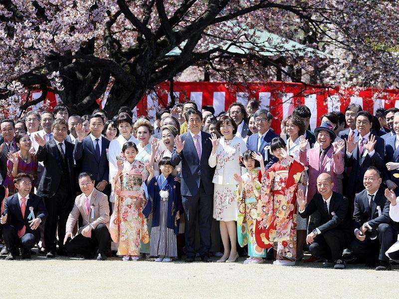 総理主催「桜を見る会」の開催-平成31年4月13日