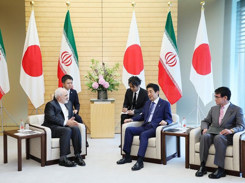 ザリーフ・イラン外務大臣による表敬-令和元年5月16日