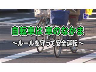 自転車は車のなかま~ルールを守って安全運転