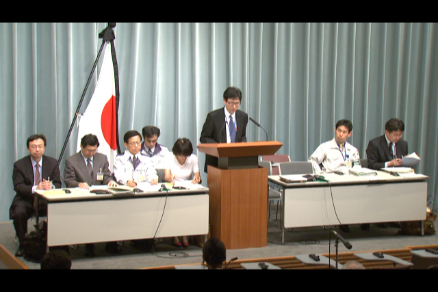 Press Briefing(The Situation after the Great East Japan Earthquake)(April 11th, 2011, at 20:00)