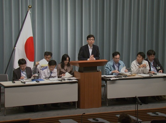 Press Briefing(The Situation after the Great East Japan Earthquake)(May 13th, 2011, at 13:00)
