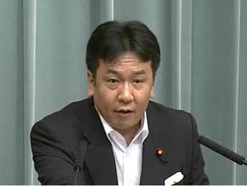 平成23年7月25日(月)午前-内閣官房長官記者会見