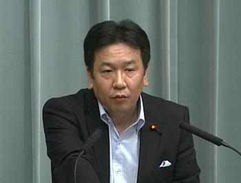 平成23年8月9日(火)午前-内閣官房長官記者会見