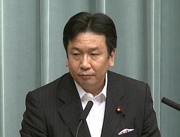 平成23年8月11日(木)午前-内閣官房長官記者会見