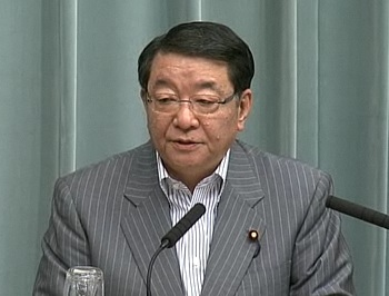Press Conference by the Chief Cabinet Secretary(May 11, 2012(AM))