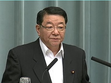 Press Conference by the Chief Cabinet Secretary(May 17, 2012(PM))