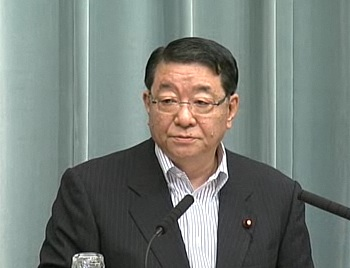 Press Conference by the Chief Cabinet Secretary(May 18, 2012(AM))