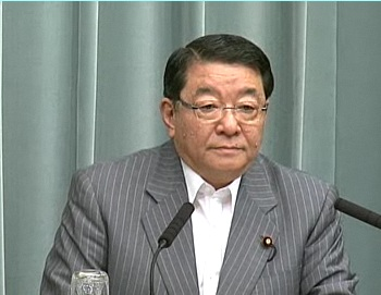 Press Conference by the Chief Cabinet Secretary(May 30, 2012(AM))