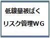 (11/15開催) 第2回低線量被ばくのリスク管理に関するワーキンググループ