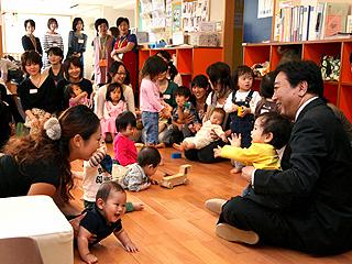 子育て支援施設等視察―平成23年10月14日(ハイライト)