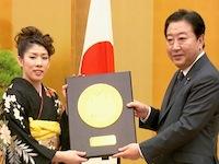 「国民栄誉賞表彰式」-国民に深い感動、希望。吉田沙保里さんに授与-平成24年11月7日(ハイライト)